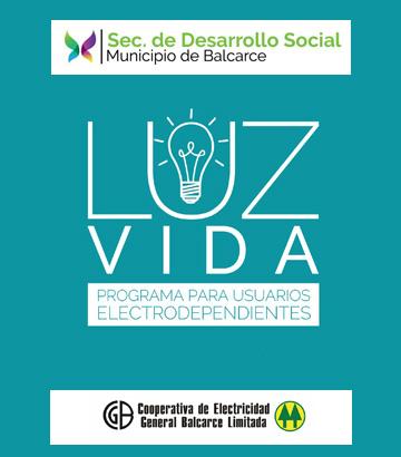 Luz, programa electrodependientes